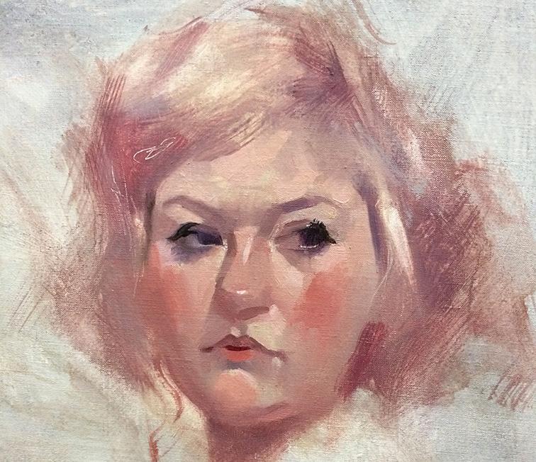 Alla Prima Portrait Sketch
