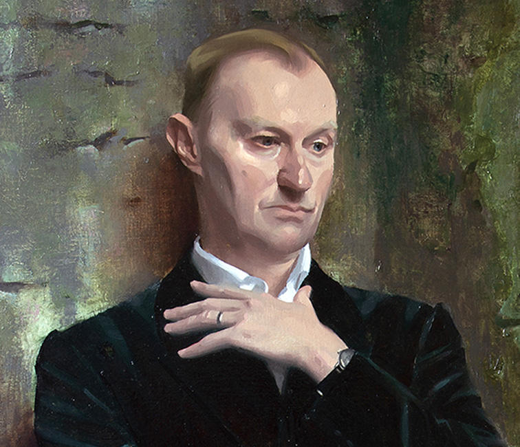 Mark Gatiss Talks About His Portrait By Alex Tzavaras